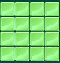 Green tiles texture seamless vector