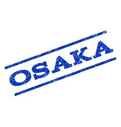 Osaka Watermark Stamp vector
