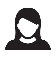 Person icon female user profile avatar vector