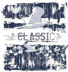 classic gull vector image