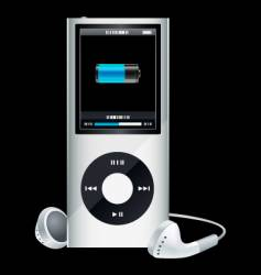 mp3 player vector image