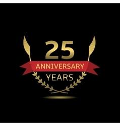 25 Anniversary years vector image