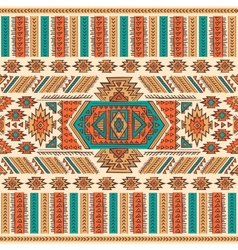 Tribal Mexican ethnic seamless vector image