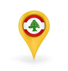 Location Lebanon vector image