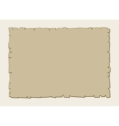 Vintage brown parchment background vector image