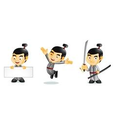 Samurai 1 vector image
