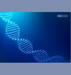 Dna science technology background for vector