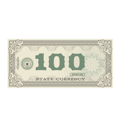 money banknotes fake money vector image