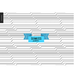 Seamless black and white wood pattern vector