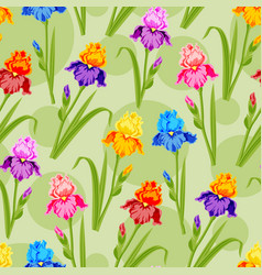beautiful watercolor flower set handmade style vector image