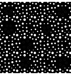 Circle and ring seamless pattern vector image