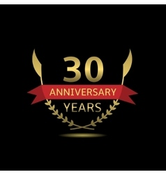 30 Anniversary years vector image