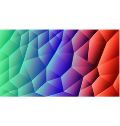 abstract triangulated background gradient r vector image
