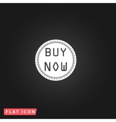 Buy now icon vector