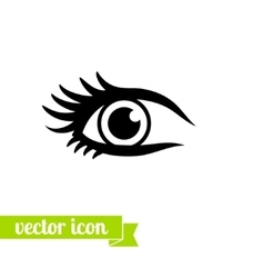 Eye icon 13 vector image