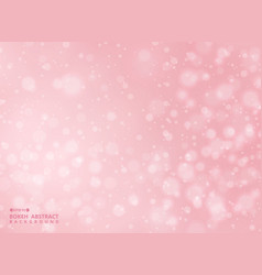 gradient pink color background with abstraction vector image