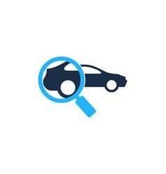 Search automotive logo icon design vector