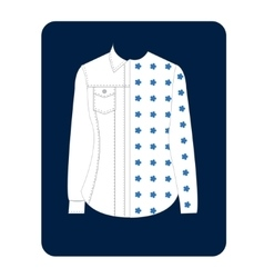 Womens Shirt vector image