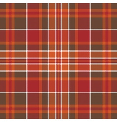 Orange brown check pixel square seamless pattern vector image vector image