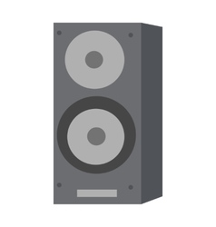 Musical Loud Speaker Isolated Acoustic Amplifier vector image