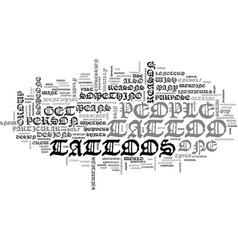 why do people get tattoos text word cloud concept vector image vector image
