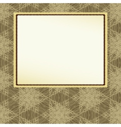 abstract background with frame vector image