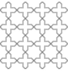abstract geometric pattern with crossing thin vector image