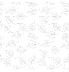 bo leaf backdrop seamless vector image