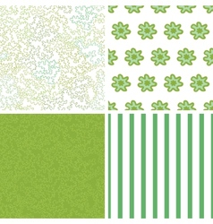 Curly doodle shapes set four marching vector