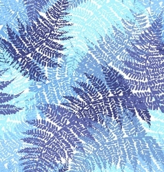 Fern seamless pattern vector image vector image