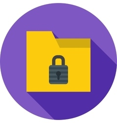 Locked Folder vector