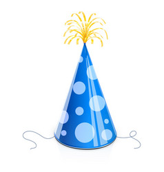 Party cap for birthday vector