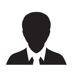 Person icon male user profile avatar vector