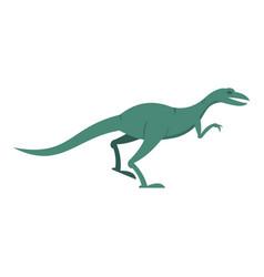 Velyciraptor dinosaur icon isolated vector