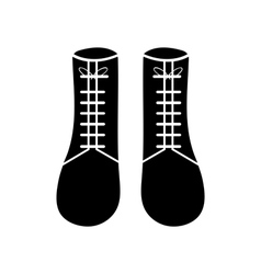 Boots icon isolated on background vector image vector image