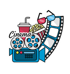 Cinematography with short film tools vector
