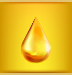 oil drop symbol isolated on background vector image