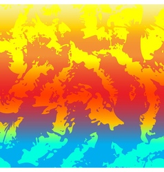 Abstract background colorful Rainbow colors vector image