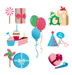 festive or birthday party different vector image