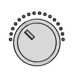volume control isolated icon vector image