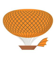 Airship icon cartoon style vector