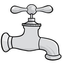 Cartoon tap vector image