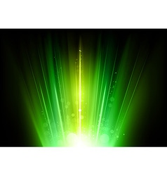 Flare green vector