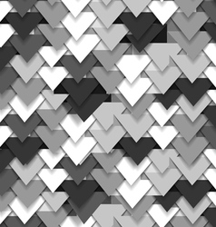 Grey abstract triangle wave vector