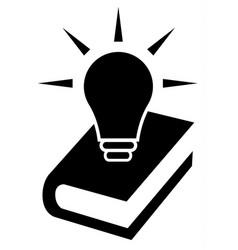 knowledge icon symbol vector image