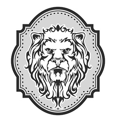 lion2 vector image