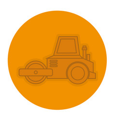 planer construction isolated icon vector image