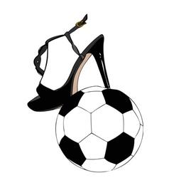 Sexy football vector