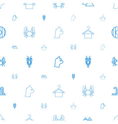 Simplicity icons pattern seamless white background vector