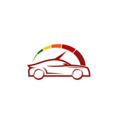 Speed automotive logo icon design vector